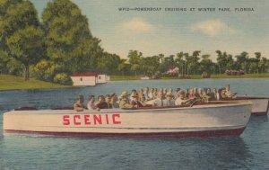 WINTER PARK , Florida , 1930-40s ; Powerboat Cruising