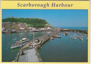 Postcard Yorkshire Scarborough Harbour