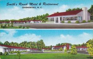 North Carolina Greensboro Smiths Ranch Hotel &  Restaurant