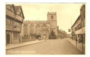 Chapel Street, Stratford-on-Avon, Worchestershire, England, United Kingdom, 1...