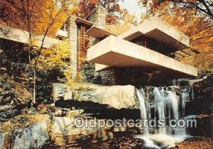 Frank Lloyd Wright's Masterwork Fallingwater, Mill Run, PA, USA unused