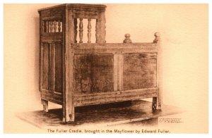 Massachusetts The Fuller Cradle bought in the Mayflower, Pilgrim Hall , Plymouth