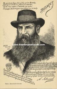 BOER WAR, Boer General Jacobus Herculaas de la Rey (1902)