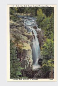 VINTAGE POSTCARD NATIONAL STATE PARK BIG HORN MOUNTAINS SELL FALLS CANON