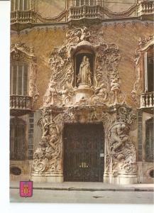 Postal 047157 : Valencia. Fachada del Palacio del Marques de Dos Aguas