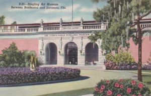 Florida Sarasota Entrance To Ringling Art Museum 1950 Curteich