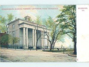 Pre-1907 MUSEUM SCENE Richmond Virginia VA AG1435