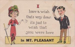 Michigan I Have A Wish In Mt Pleasant 1916