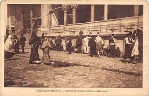Turkey Constantinople Fontaine d'Ablutions a Jeni-Djami