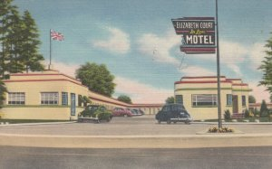 LONDON , Ontario , Canada , 30-40s ; Elizabeth Court Deluxe Motel