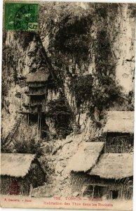 VIETNAM INDOCHINE - Tonkin -Nacham - Habitation des Thos (190300)
