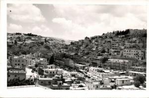 jordan, AMMAN, General View (1950s) RPPC