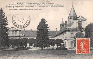 BF6218 facade du palais de jacques d athoze cluny france      France