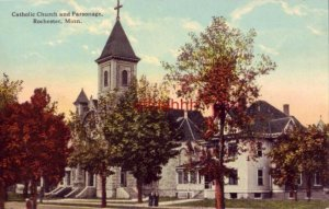 CATHOLIC CHURCH AND PARSONAGE. ROCHESTER, MN