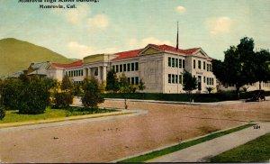 California Monrovia High School Building