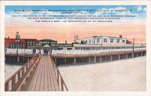 New Jersey Atlantic City Hackney's Restaurant 417 Employees On The Boardwalk
