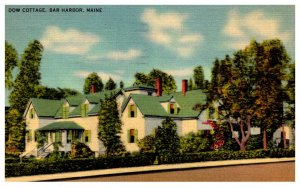 Maine  Bar Harbor  The Dow Cottage