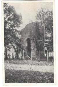 VA Jamestown Old Church Tower First Settlement Postcard