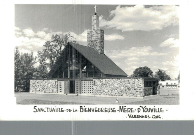 Canada Sanctuaire de la Bienheureuse Mere d'Youville Varennes Que RPPC 01.65