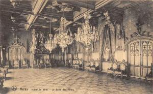 France Arras Hotel de Ville La Salle des Fetes, Town Hall Interior