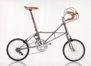 One Off Moulton Special 1991 UK British Bicycle Bike Cycle Postcard