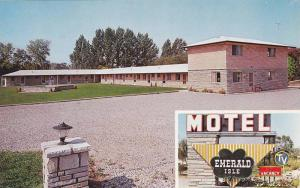 Shamrock Clover, Exterior View of Emerald Isle Motel, Richmond Hill, Ontario,...
