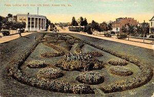 Floral Designs Post Cards Paseo Kansas City, Missouri, USA 1911