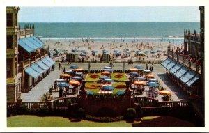 New Jersey Atlantic City Hotel Dennis Putting Green Boardwalk and Beach