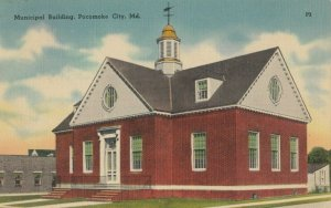 POCOMOKE CITY , Maryland , 1930-40s ; Municipal Building