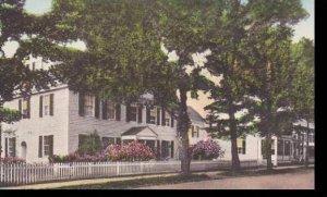 Vermont Woodstock Summer Home Of Mr Otis Skinner Albertype