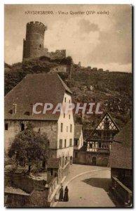 kaysersberg Old Postcard Old Quarter