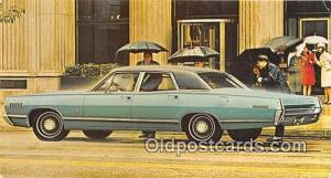 Camden, NJ, USA Postcard Post Card 1967 Mercury Brougham 4 Door Sedan