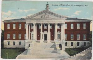 Annex Of State Capitol, ANNAPOLIS, Maryland, PU-1912