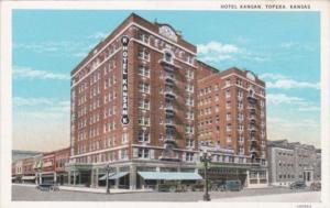 Kansas Topeka Hotel Kansan Curteich