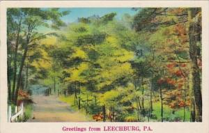 Pennsylvania Greetings From Leechburg