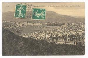 Constantine , Algeria, PU-1908 , Le Quartier Arabe et le faubourg de Coudiat-Aty