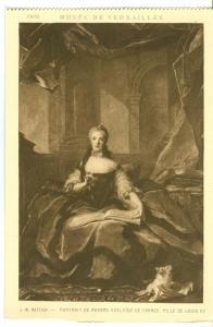 Nattier, Portrait de Madame Adelaide de France