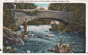 New York Niagara Falls Bridge From Goat Isle To Three Sister Islands