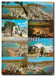 Modern Postcard Benidorm (Espana)