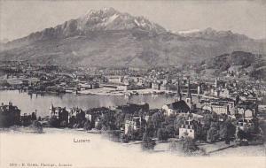 LUZERN, Switzerland, 1900-1910´s; General View