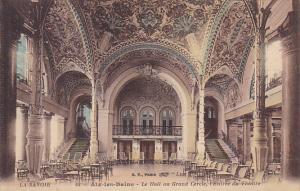 France Aix-les-Bains Le Hall au Grand Cercle l'Entree du Theatre