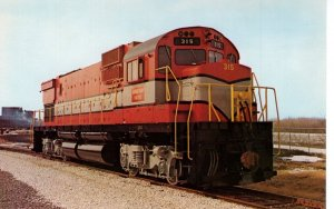 US    PC2405  GREEN BAY & WESTERN 315 LOCOMOTIVE