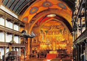 France Saint Jean de Luz Interieur de l'Eglise Saint Jean Baptiste Postcard