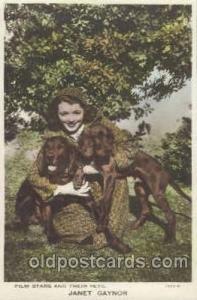 Dog Janet Gaynor Unused