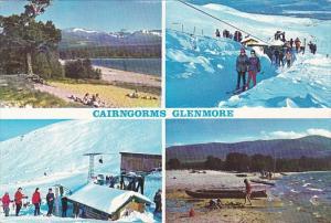 Scotland Cairngorms Glenmore Multi View 1964