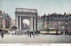 France Bordeaux Porte Bourgogne