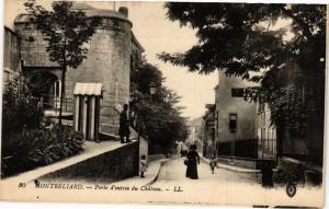 CPA MONTBÉLIARD - Porte d'entrée du Chateau (183074)