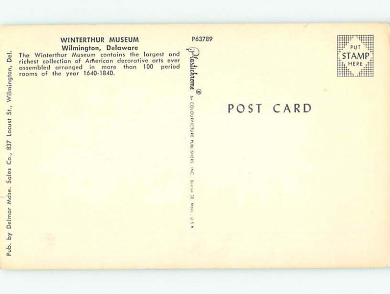 Chrome MUSEUM SCENE Wilmington Delaware DE AG0258