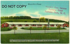 411 Motel, Maryville Tenn