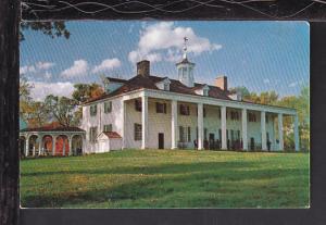 East Front Mount Vernon Postcard BIN